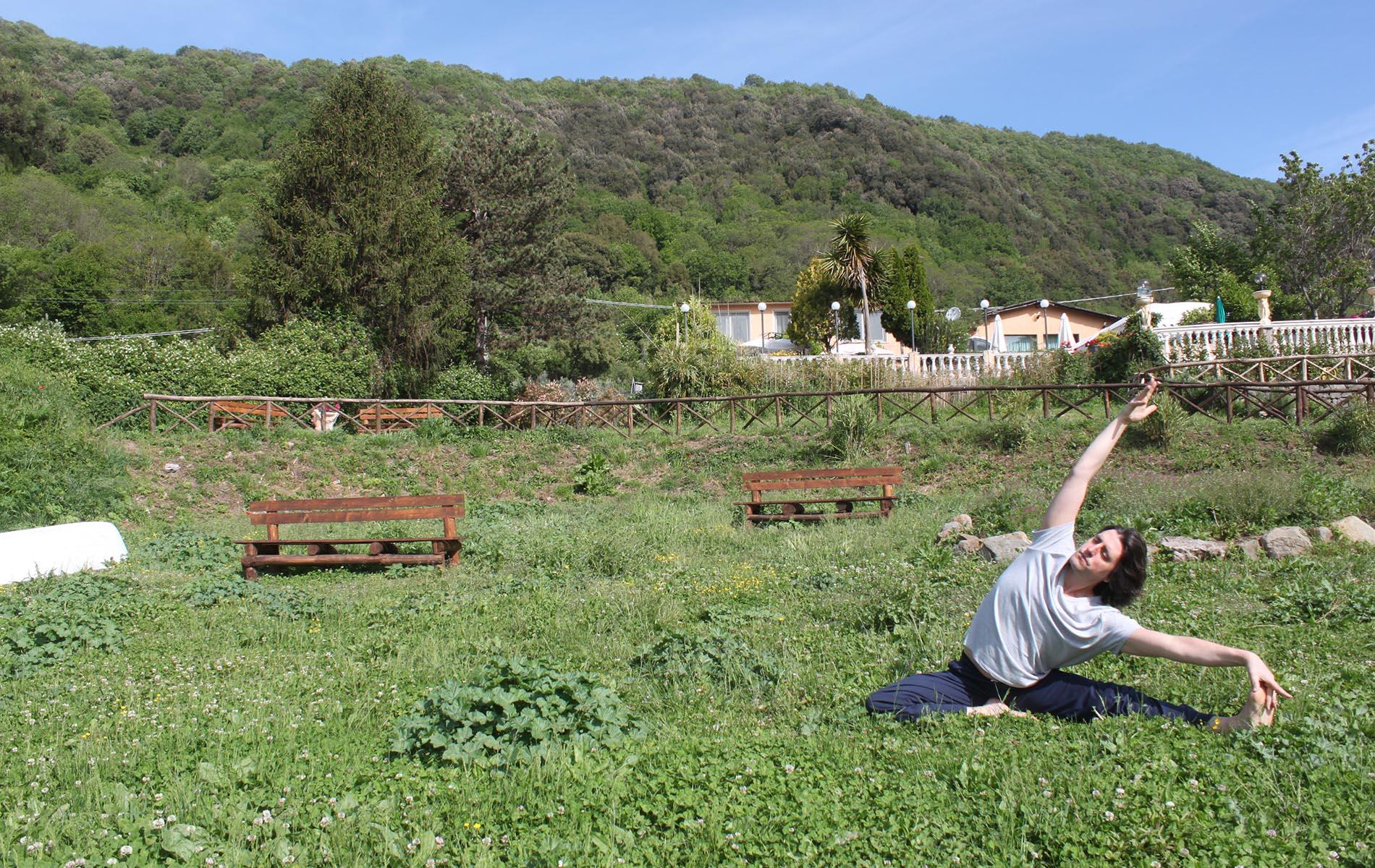 Daniele Dionisi Yoga del Centro Ariccia